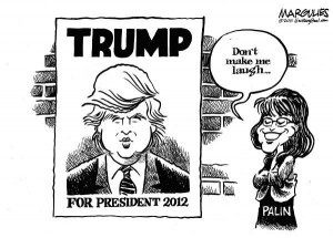 Donald Trump and Sarah Palin