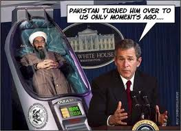bush captured osama
